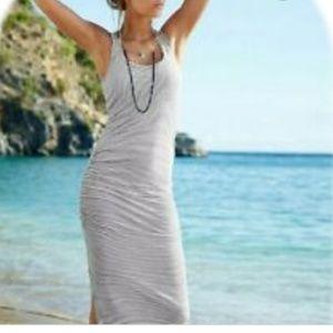 ⭕5/$25⭕Victoria's Secret Scrunch Maxi Dress W/Slit